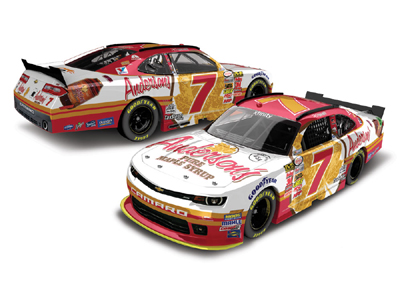 Anderson's Maple Syrup JRM #7 2015 Regan Smith 1/24 scale diecast.