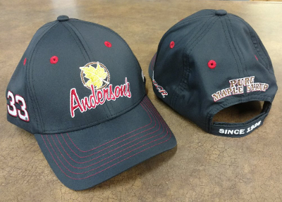 Anderson's Maple Syrup RCR #33 2017 team hat.