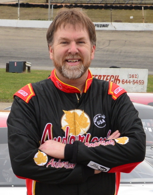 Picture of Anderson's Maple Syrup driver Dennis Prunty.